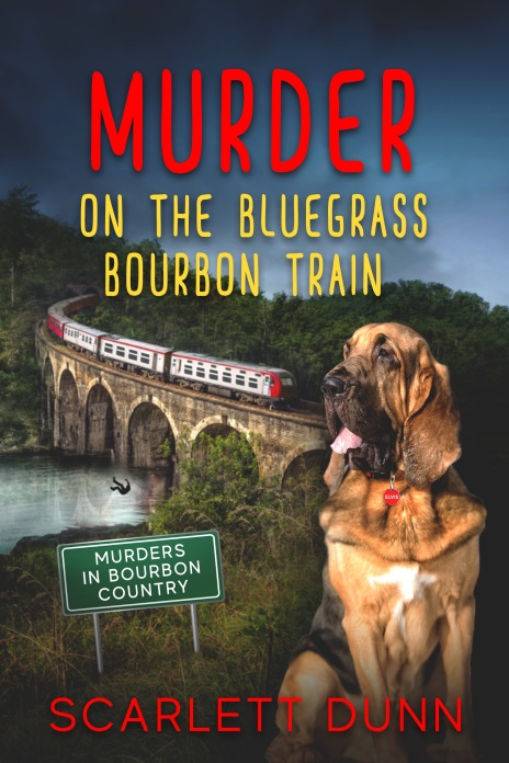 Murder on the Bluegrass Bourbon Train Book Cover.jpg